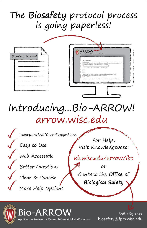 Bio-ARROW poster