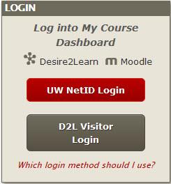 Learn@UW screenshot